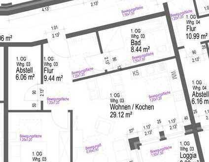 Die optimale Wohnung für Senioren mit Loggia und Aufzug!