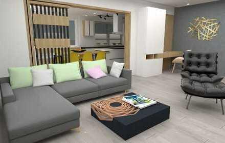 Perfekte 4 Zi-Whg. mit Anliegerappartement u. Hobbyräume ca. 30 m²