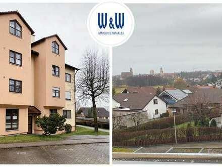 Bestlage in CRAILSHEIM | Attraktive 3-Zimmerwohnung mit 2 Balkonen, EBK & Einzelgarage