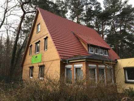 Mahlow: Einfamilienhaus, ca. 180 m² + 6.000 m² Grundstück mit eigenem Wald per SOFORT zu VERKAUFEN