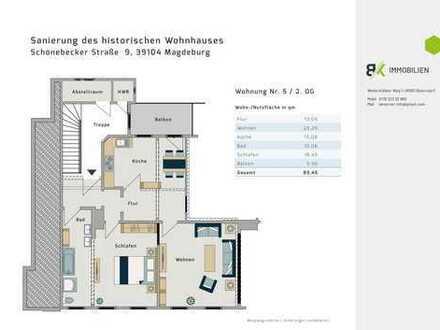 Historisches Rayonhaus in Magdeburg / Buckau