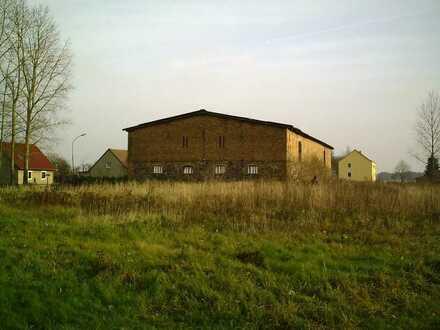 Baugrundstück mit Lagerhalle für Boote, Wohnmobile, etc. nahe der Ostsee
