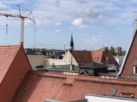 Über den Dächern von Halle: 4-Zimmer-Wohnung (Neubau) mit Blick über Halle (Saale)
