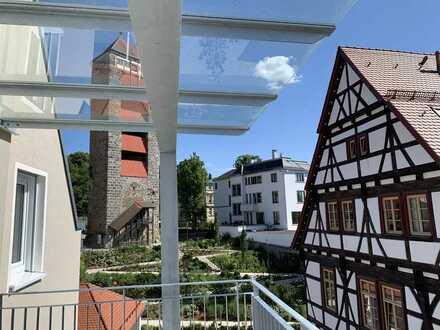 Erstbezug: Moderne 4-Zimmer-Wohnung mit EBK und Balkon in Schwäbisch Gmünd