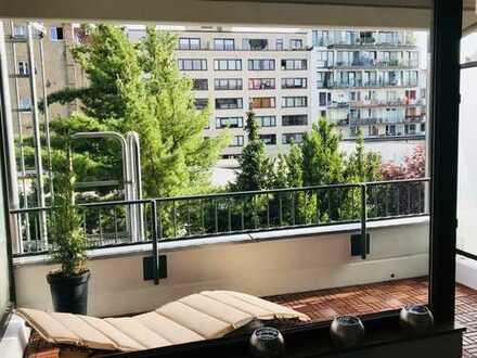 löffelfertiges Apartment mit Balkon im Belgischen Viertel
