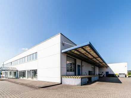 freistehende Hallenfläche mit anliegendem Verwaltungsgebäude | Erweiterungspotential | RUHR REAL