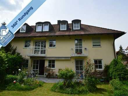 Großzügige 3-Zimmer-Gartenwohnung in kleiner Wohnanlage in Großhadern