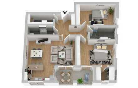 +++ Top-Neubauprojekt in Osnabrück-Wüste - stylische Wohnungen mit Balkonen und Tiefgarage +++