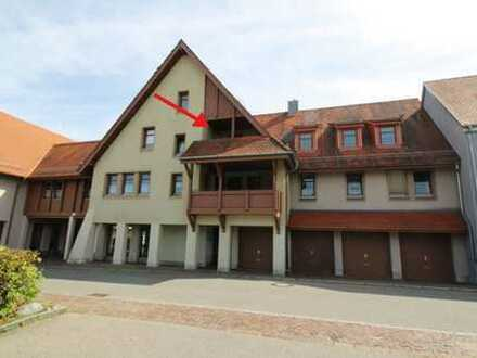 """""""zentral, zentral, zentral"""" 3-Zimmer-Wohnung in Bad Saulgau"""