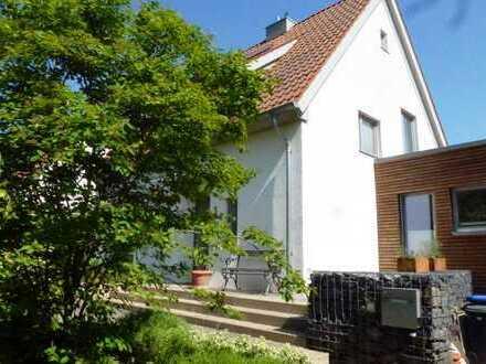 Ökologisches Einfamilienhaus im Musikerviertel von Detmold mit großem Garten