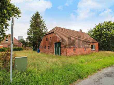Ihr Projekt: Sanierungsbedürftiges EFH auf großem Grundstück in sehr guter Lage von Friedeburg