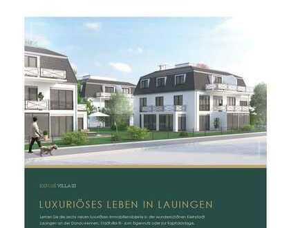 Schöne, gut geschnittene 3 Zimmerwohnung in einer luxuriösen Stadtvilla mit Dachterrasse