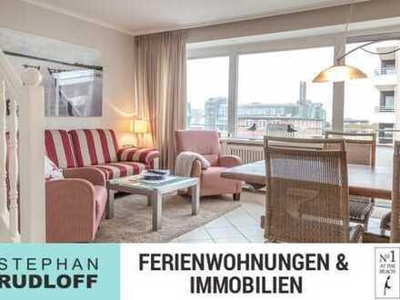 UPDATE: 3,5 Zimmerwohnung, 2 SZ, kl. Meerblick, Stellplatz- mit top Vermietungsmöglichkeit