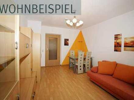Moeblierte 1-Raumwohnung im Zentrum von Plauen!
