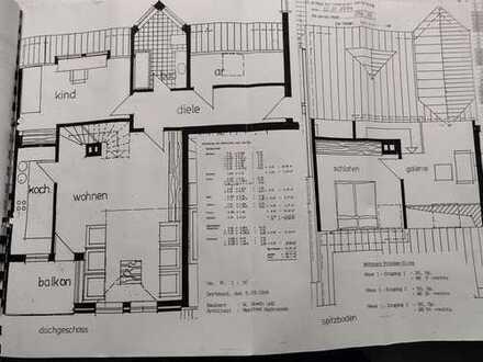 große 3-Raum-Maisonette-Wohnung