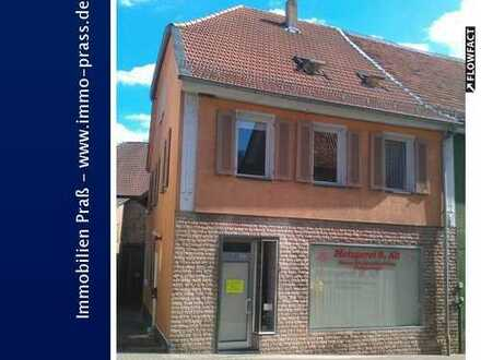 Wohn-und Geschäftshaus mit Nebengebäude und Grundstück in Waldböckelheim zu verkaufen!