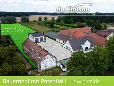 Großer Gewerbe Bauernhof mit Entwicklungspotential