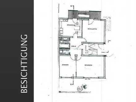 Schöne und großzügige geschnitte 3 Zimmerwohnung mit Südwestbalkon