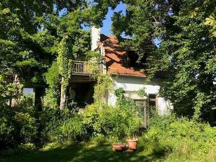 Altbestand auf idyllischem Grundstück in begehrter Lage von Starnberg