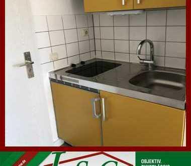 AB 01.02.2020 - FRISCH RENOVIERT - VINYL-LAMINAT - FARBIGE Küche mit CERANFELD!