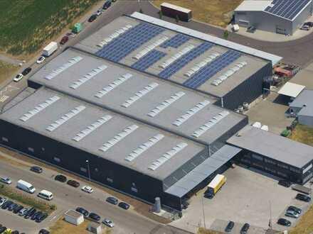 Neuwertige Produktionshalle mit Bürogebäude in TOP-LAGE !!! -Ohne Makler-