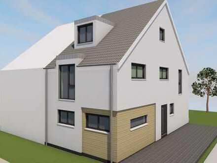 Moderne Neubau Doppelhaushälfte inkl. Bauplatz