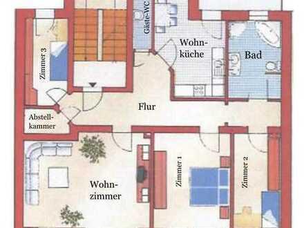 Große 4-Raum Wohnung mit Kamin in Zentrumsnähe wartet auf Sie!
