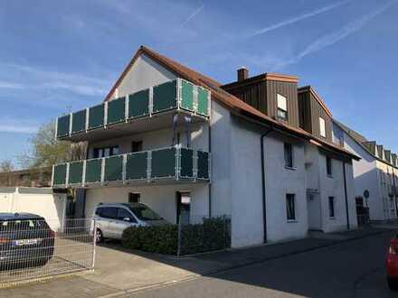 Moderne Wohnung mit großem Sonnenbalkon