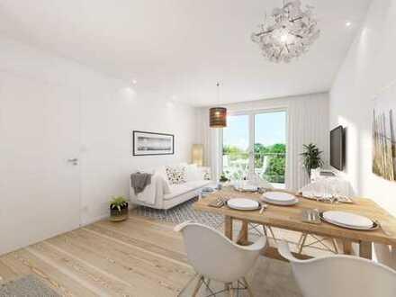 Neubau: Zwei Zimmer Wohnung im modernen Mehrfamilienhaus