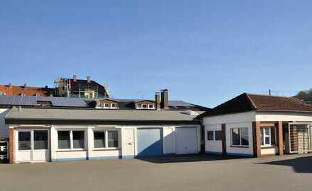 Gewerbeimmobilie am Betheleck - Halle + Büro + Aussenfläche