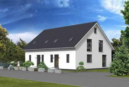 Moderner Neubau mit Grundstück - Hier lässt es sich leben