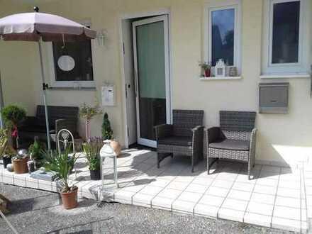 Brück Immobilien - Attraktive 3-Zi.-Erdgeschosswohnung mit Süd/West-Terrasse