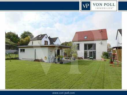 Extravagantes Einfamilienhaus mit großem Garten und hochwertiger Ausstattung