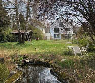 E & Co.- Grundstück mit Altbestand zum ABRISS! Ruhig & grün in Denning Stadtbezirk 13 Bogenhausen.