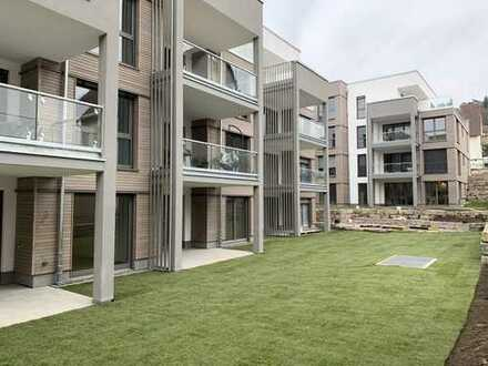 Erstbezug: freundliche 4-Zimmer-Wohnung mit Einbauküche und Balkon in Althengstett