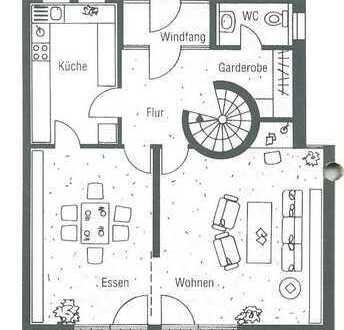 Helles WG-Zimmer mit Balkon in Einfamilienhaus am Eselsberg