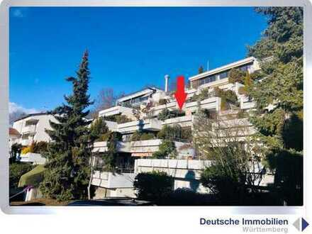 Traumblick: 3 Zimmer Terrassenwohnung in Stuttgart- Süd