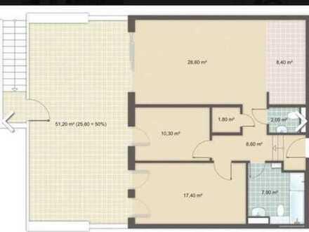 Schicke 3 Zimmer-Neubauwohnung mit ***25qm Terrasse***nähe U-Bahnstation RIEDBERG!!!