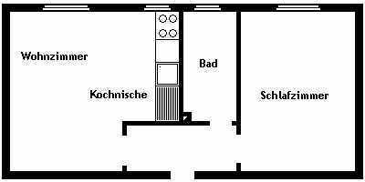 Hattingen-Stüter!! Renovierte 2 Zimmer Mietwohnung