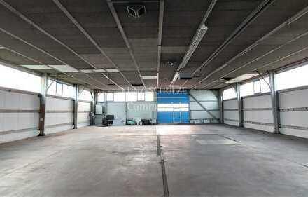 Stützenfreie und flexibel nutzbare Hallenfläche mit direkter Anbindung an den ÖPNV und B3/B36