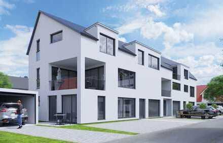 4,5 Zimmer Neubauwohnung im Architektenhaus mit Einzelgarage und Loggia
