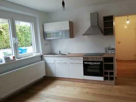 Erstbezug nach Sanierung mit Einbauküche: exklusive 2-Zimmer-EG-Wohnung in Fürth/Unterfarrnbach