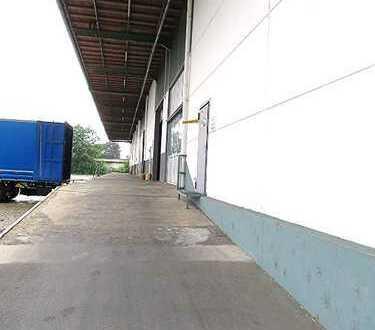 Logistik-Immobilie mit Rampe und Sprinkleranlage