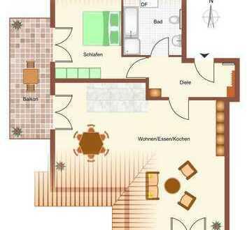 2 Zimmer Dachgeschoss - viel Platz für Wohnträume