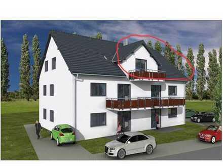 Erstbezug: attraktive 2,5-Zimmer-Wohnung mit großem Balkon in Gundihausen