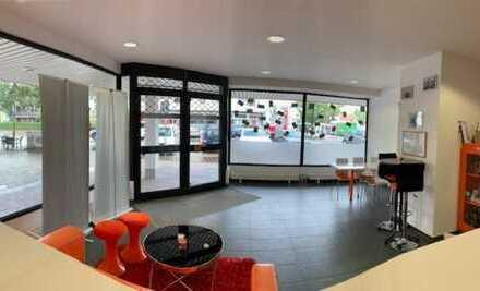 EG Ladenlokal mit großem Schaufenster als Büro- oder Praxisfläche mitten in Senden!!