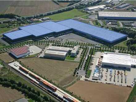 EXKLUSIV & Provisionsfrei - ca. 50.000 m² Lager-und Logistikflächen direkt an der A7 im Bestand