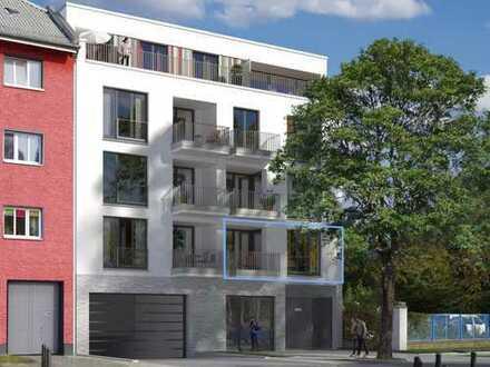 3-Zimmer-Wohnung im 1. OG, Vorderhaus zur Anwohnerstraße, Südloggia