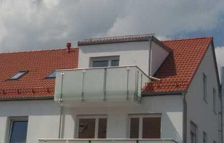 Schöne 2,5 Zimmer Neubau-Dachgeschosswohnung in Manching/Oberstimm