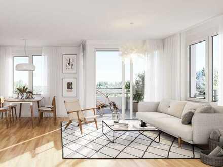 Wohnen für die ganze Familie: großzügige 4-Zimmer-Wohnung mit Balkon - WE412